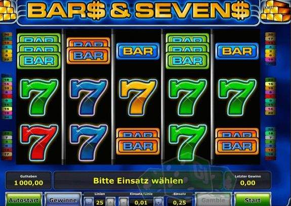 Spiele BARs And 7s - Video Slots Online
