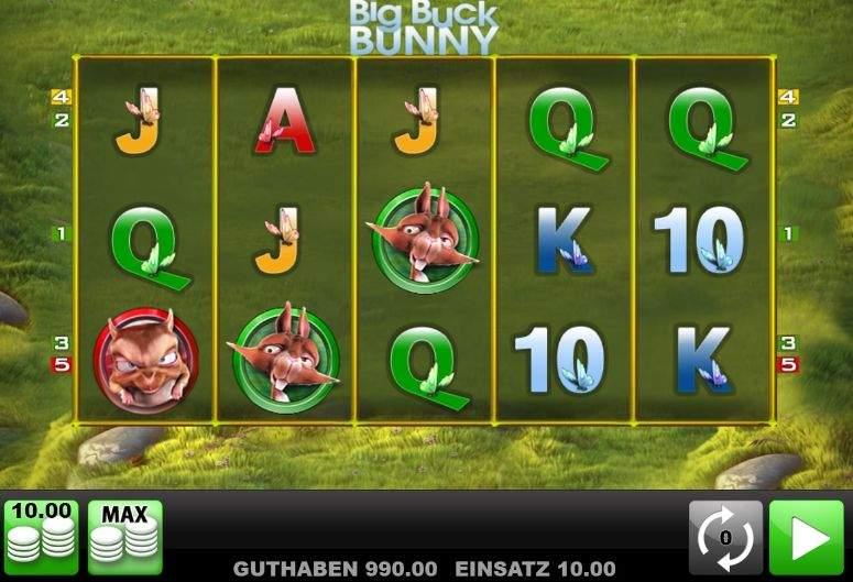 Big Buck Bunny Slot Machine