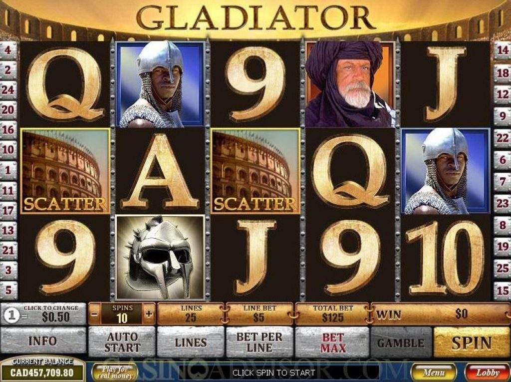 Gladiator Slot Spielen