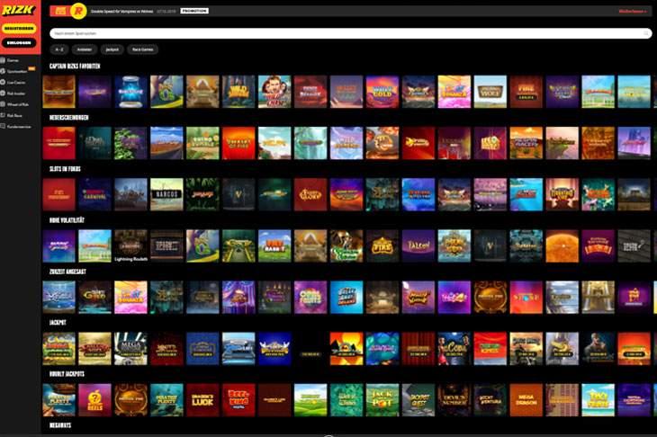 Rizk Casino App